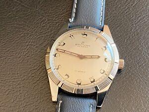 Vintage 60s Breitling Cadette Watch - Serviced & Adj.