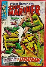 Sub Mariner 3 Marvel Silver Age 1968 The Leviathan