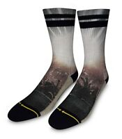Merge 4 Show Classic Crew Sock GB1114 Black *New*