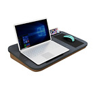 HOME BI Lap Desk for Laptop with Built-in Mouse Pad and Cellphone Tablet up to