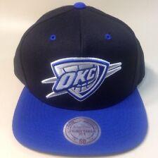 $30 MSRP, OKC Oklahoma City Thunder Strapback Hat Mitchell & Ness