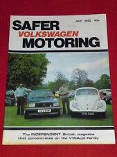 VW - SAFER MOTORING - July 1982