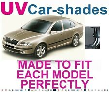 Skoda Octavia 5dr 04- UV CAR SHADES WINDOW SUN BLINDS PRIVACY GLASS TINT BLACK