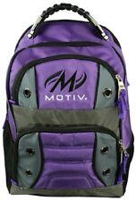 Motiv Intrepid Bowling Ball Company Tournament Backpack Purple/Silver