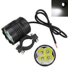 40W Motorrad 4x XML T6 LED Lampe Licht Zusatzscheinwerfer Fernlicht Scheinwerfer