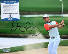 RORY MCILROY SIGNED 8X10 Golf PGA PHOTOGRAPH Beckett CERTIFIED