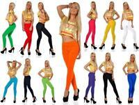 Damen Winter Leggings Lang Thermo viele Farben Baumwolle. S M L XL XXL 3XL 4XL