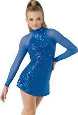 Ice skating dress Competition Figure Skating Baton Twirling Costume Adult child