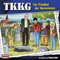 TKKG - 194/DER FRIEDHOF DER NAMENLOSEN  CD NEW