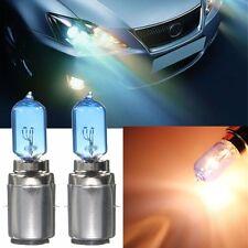 2x BA20D 35/35W Dual Beam Blanco Xenon Faros bombillas Halógeno Head Light 12V