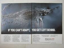 7/1989 PUB MAGNAVOX GPS US NAVY FOSSIL FOSSILE ICHTYOSAURE HAUFF HOLZMADEN AD