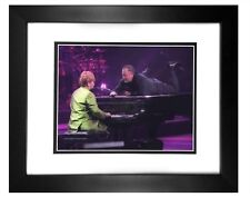 Elton John & Billy Joel -  002  8x10 Photo Framed 11x14