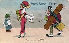 Suffragette Comic. When Woman Rules. One Never Nose by Valentine's.