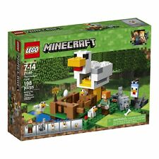 LEGO Minecraft the Chicken Coop 21140 Building Kit Hot In Hand