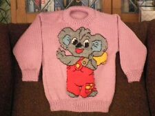 BLINKY BILL ..NEW SIZE 3-4  HANDKNITTED NEW