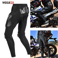 WOSAWE Motorrad Motorradhose Sport Biker Racing Gepanzerte Hose Hüftprotektor