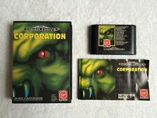 CORPORATION - Sega Megadrive - BOXED + INSTRUCTIONS