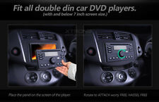 "Universal Dummy Security Face Panel Cover for 7"" Double DIN Car Radio DVD Player"
