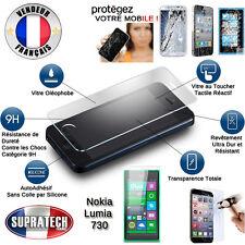 Protection d'Ecran en Verre Trempé Contre les Chocs pour Nokia Lumia 730