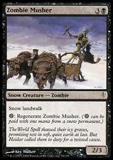 4x Zombie su Slitta - Zombie Musher  MTG MAGIC CSP Coldsnap Eng/Ita