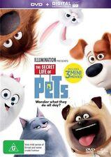 The Secret Life Of Pets (DVD, 2016) Brand New Sealed Region 4