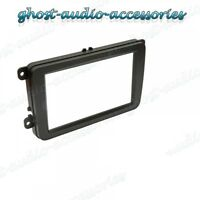 VW Skoda Double DIN Car CD Stereo Radio Facia Fascia Surround Adaptor Plate