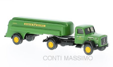 "WIKING 080048 - 1:87 - MAGIRUS SATURN c/semi-trailer tank "" BP "" (1958)"