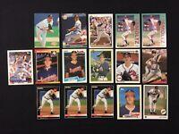 John Smoltz Baseball Card Lot of 16 Upper Deck Topps Donruss Rookie Fleer