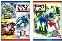 Bandai Pokemon Shikishi ART 3 10Pack BOX (CANDY TOY) Japan