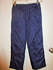 Rothchild Youth Size Medium 10/12 Navy Blue Snow Ski Pants