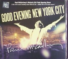 PAUL MCCARTNEY GOOD EVENING NEW YORK CITY 2 CD+DVD SET POP ROCK ALBUM NEW