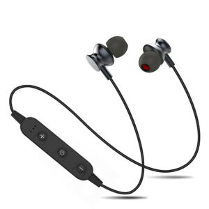 Bluetooth Headset Wireless Stereo Earphone with Mic Running Sporting gym outdoor