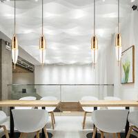 Bar Lamp Glass Pendant Light Kitchen Chandelier Lighting Room LED Ceiling Lights