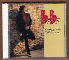 """BB WATSON cd """"Light At The End Of The Tunnel"""" 1991 BMG New Sealed 10 Tracks B.B."""