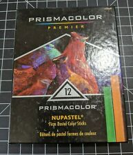 Prismacolor Premier 12 Nupastel Color Sticks Drawing Art Supplies Used