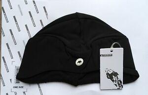 Assos Stinger Winter Cap Hat - Black Medium