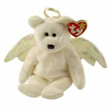TY Halo the Angel Bear Original BEANIE BABY 1998 Retired MWMTs