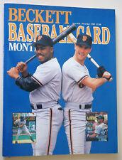 BASEBALL BECKETT CARD MONTHLY - Nov 1989 / Iss #56 W Clark, K Mitchell, J Walton