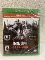 Dying Light The Following Enhanced Edition Xbox One 2016 Brand New Sealed