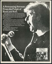 1978 Judas Priest photo Stained Class album release vintage print ad