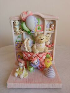 Adorable Pink Teddy Bear Bookends