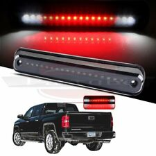 FOR 1988-1998 CHEVY SILVERADO BLACK THIRD 3RD LED BRAKE LIGHT REAR CARGO LAMP