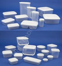 Multi Purpose Plastic Container For Food Storage Freezer Cake Tub Box Airtight