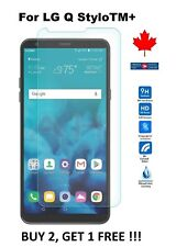 For LG Q Stylo Plus (LMQ710WA)  Tempered Glass 9H Hard Screen Protector Cover