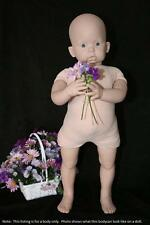 """Reborn Doe Suede Body Only for 3/4 Limb Standing Toddler 30"""" Baby Doll 6569"""