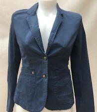 Tommy Hilfiger Women's Kenzie Boston Blazer /jacket Blue 8
