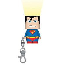 Superman Clip-On Look-A-Lite Light up Key Chain Keyring Ring Stocking Filler