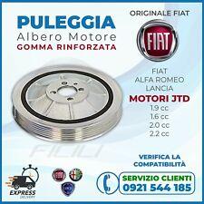 Puleggia Albero Motore: FIAT™ Original per Bravo-Giulietta-500L-Croma-Mito-Delta