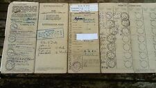 log book,barn find, 1950 Sunbeam 500cc motor bicycle,reg no VMP 9,with mot cert