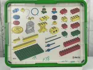 Lego Building Toys Dacta Simple Machines Teachers Cards 9654 Incomplete 140 Pcs